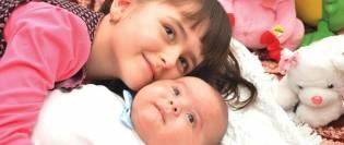 Andreea Voicu - mama și copilul
