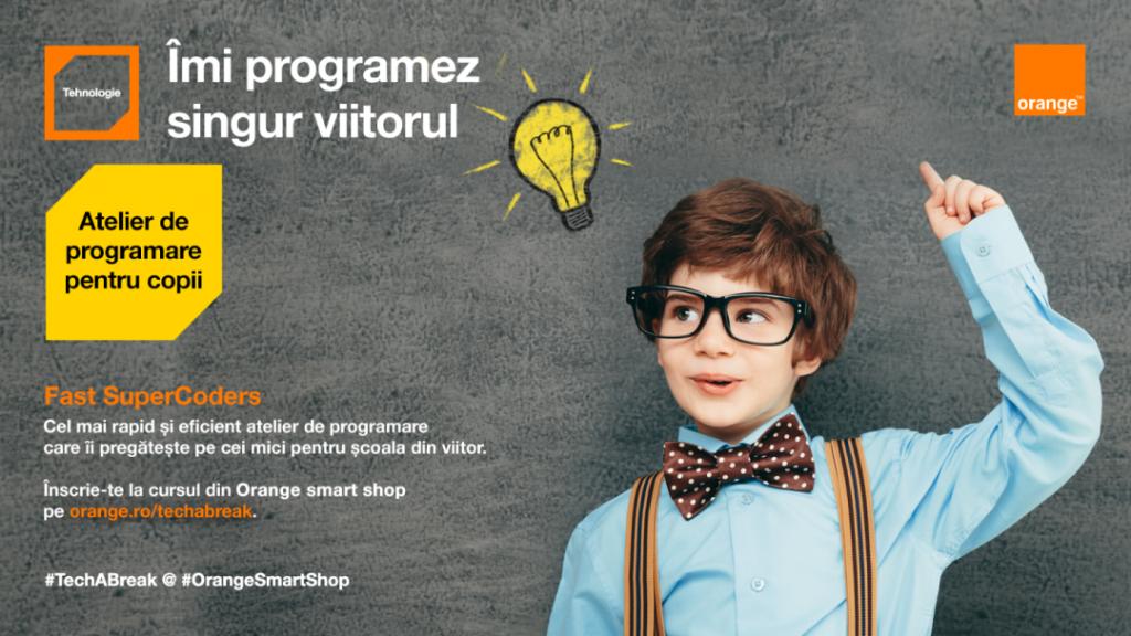 Platforma Tech a Break - Pauza de tehnologie din Orange smart shop
