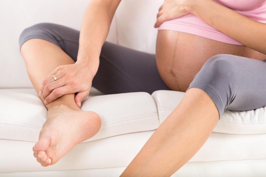 De ce te umfli in timpul sarcinii